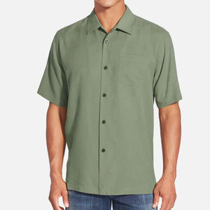 Mens Tommy Bahama Silk Button Down Camp Shirt
